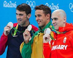 銀メダルが3人 :フォトニュース - リオ五輪・パラリンピック 2016:時事ドットコム