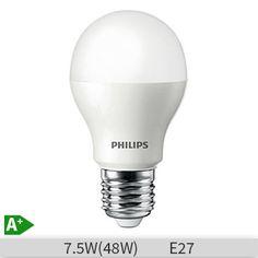 Bec LED Philips A60 7.5W E27 20000 ore lumina calda