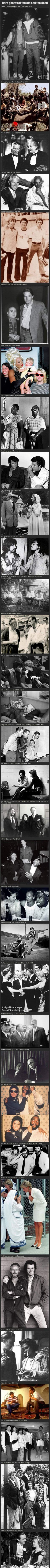 Old and rare photos of celebrities hanging out together