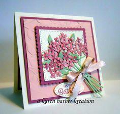 CC646-HYDRANGEAS RETURN by Karen B Barber - Cards and Paper Crafts at Splitcoaststampers