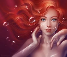 Ariel/Little Mermaid by Sharandula