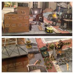 Axis vs Allies & SSU 500pt battle.