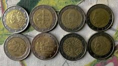 Coins, Personalized Items, Euro, Random, Design, Strong, Home, Rooms