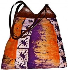 Strapped A Y3 M3 Bag in SunRise Batik