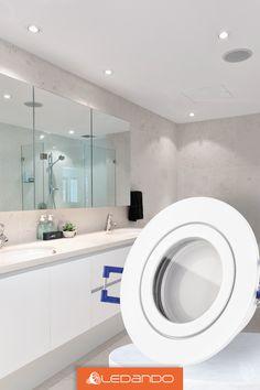 11 Led Beleuchtung Fur Badezimmer Feuchtraume Ideen Einbaustrahler Aufbaustrahler Strahler