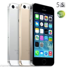 Apple iPhone 5S 16GB Factory Unlocked Sim Free Smartphone Mobile Phone 3 Colors | eBay