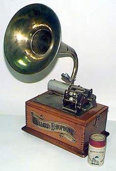 phonographe steampunk