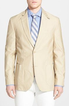 FLYNT Classic Fit Stripe Cotton Sport Coat available at #Nordstrom