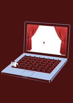 Wired Laptop by Kronk , via Behance #illustration #ilustracion