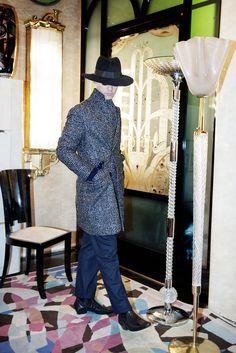 MP Massimo Piombo - Fall 2015 Menswear - Look 22 of 25 Fashion Show, Mens Fashion, Fashion Design, Nike Air Flight, Nike Models, Fall Winter 2015, Autumn, Wide-brim Hat, Good Looking Men