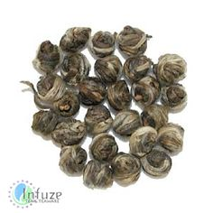 Jasmine Pearls: Known for its intoxicating scent, jasmine finds a home in this simple tea through delicate pearls. The premium green tea mixes gently with the pearls as it brews, releasing a sweet fragrance with every sip.
