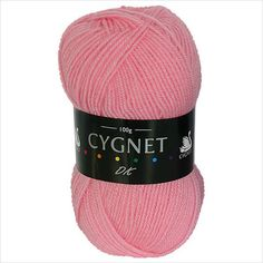 Classic double knitting yarn by Cygnet, which has always been extremely popular.  £1.50 on ebid