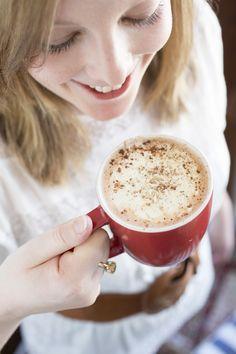 Hot chocolate - yum! Confetti Mag Australia.Love seeing my friends on interest!