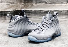 "Nike Air Foamposite One ""Wolf Grey"" - Release Reminder For Tomorrow 07/11/15 -Price: $250"