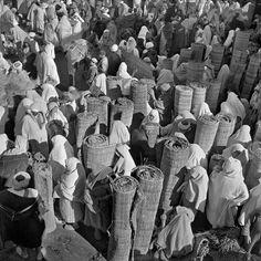 Marché de nattes de paille. Tanger, Maroc Nicolas Muller
