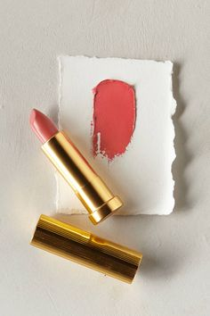 My favorite lipstick -- Albeit (in Peony) // Anthropologie