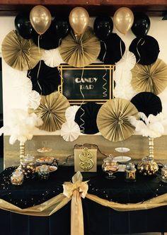 "BLACK Gatsby Theme latex balloons pack Wedding White Balloons 12 "", Baby Shower, Birthday Decoration, Party Balloons - Decoration For Home 40th Birthday Parties, Grad Parties, Themed Parties, Themes For Parties, Birthday Party Ideas For Adults, 50th Birthday Party For Women, Hollywood Birthday Parties, Birthday Gifts, 50 Birthday"