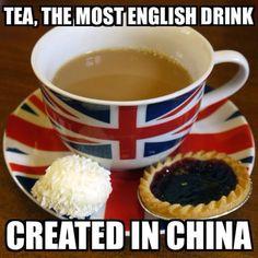 Oh, England. You Guys And Your Tea