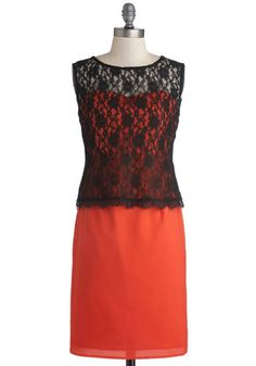 Dreaming of Tangerine Dress. You'll marvel at the way your finest fashion fantasies come true when you zip into this vibrant dress! Fabulous Dresses, Unique Dresses, Sexy Dresses, Fashion Dresses, Girls Dresses, Dresses For Work, Formal Dresses, 30th Birthday Dresses, Birthday Girl Dress