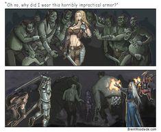 D & D Forever-Humor