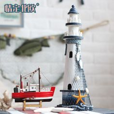 Home-decoration-font-b-accessories-b-font-wooden-lighthouse-desktop-crafts-Marine-series-tower-promotion-gifts.jpg (1300×1300)