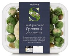 waitrose sprouts. I love brussell spouts.