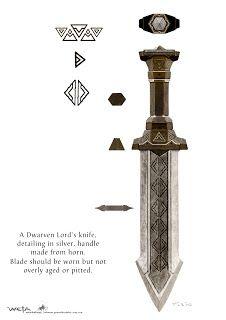 Dwarven knife