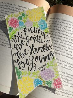 Handmade bible verse bookmark by LyndsieRooksCreation on Etsy https://www.etsy.com/listing/268789694/handmade-bible-verse-bookmark