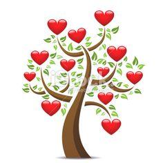 Love Heart Tree ❤ by mstay