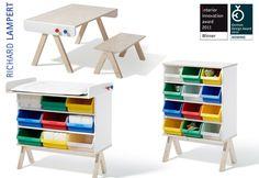 modular kids furniture set by Alexander Siefried for Richard Lampert