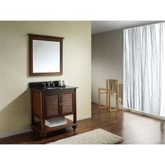 Avanity Tropica 30 in. W x 21 in. D x 34 in. H Vanity Cabinet Only in Weathered Brown-TROPICA-V30-AB - The Home Depot