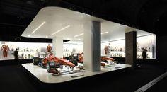 retrospective formula 1 exhibition of fernando alonso at sala arte canal #formula #ehibition