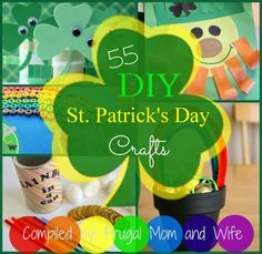 Frugal Mom and Wife: Free Printable ST. PATRICK'S DAY Coloring Pages!