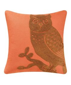 Look at this Owl Throw Pillow on #zulily today!