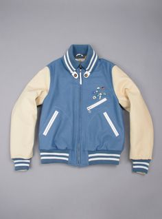 Couverture and The Garbstore - Mens - Garbstore - Vintage varsity Tour jacket