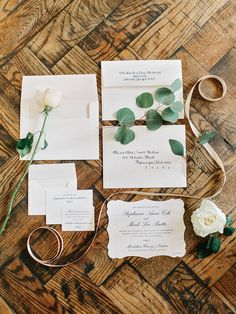 Intimate Vineyard Wedding at Montaluce Winery & Estates as Seen on The Knot | Amy Arrington Photography | Chancey Charm | Stylish Stems #invitationsuite
