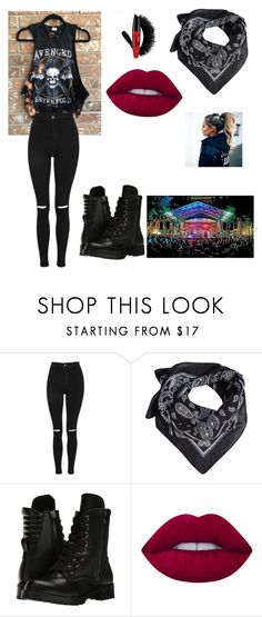 """""""Untitled #529"""" by bohocacti ❤ liked on Polyvore featuring Topshop, MANGO, Capezio and Lime Crime"""