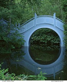 Blue Moon Bridge, Quebec, Canada close to home and never knew about it? Looks like its time to make a trip!