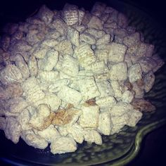 Pumpkin Puppy Chow by yours truly. :) #pumpkinisaseason #rocflavors