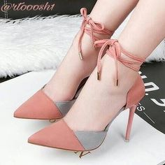 32 Fabulously Gorgeous Heels For Women Who Love To Look Stylish - Page 2 of 3 - Style O Check Source by chaibaas shoes Fancy Shoes, Pretty Shoes, Hot Shoes, Women's Shoes, Shoe Boots, Sparkle Shoes, Shoes Sneakers, Footwear Shoes, High Heels Stiletto