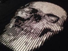 Resultado de imagen de bordado relieve calavera