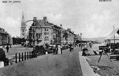 Postcard, of St John s, Weymouth Dorset. Posted 1904