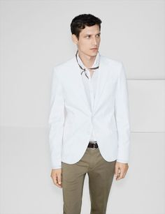 Zara Spring/Summer 2013 Man May Lookbook: Playful & Balanced Relaxed Formal Summer Looks With Zara' Classic Elegance Twist