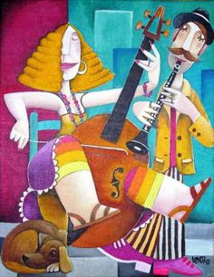 violonchelo by by Leandro LamaS