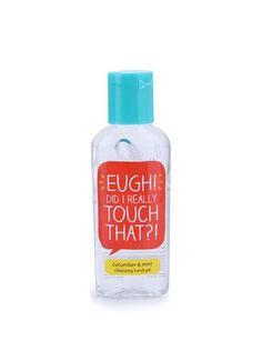 Dezinfekcia na ruky s vôňou uhorky a mäty Happy Jackson Eugh!