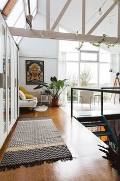 sfgirlbybay / bohemian modern style from a san francisco girl light-filled loft studio of ceramicist rena noordermeer of hear hear. House Design, Interior Decorating, Interior Design Tips, Interior, Home, House Interior, Apartment Decor, Scandinavian Interior Design, Home Interior Design