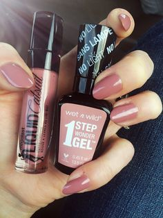 Wet n wild rebel rose and stay classy a perfect match.