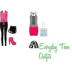 Everyday teen outfits