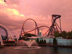 Valravn - Cedar Point #valravn #rollercoaster #cedarpoint #divecoaster #themepark #thrillz