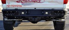2014 tundra venom rear bumper
